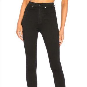 Dr. Denim Black High-Waisted Jeans